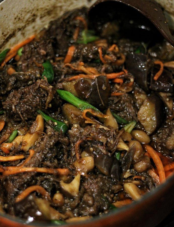 Short Rib & Eggplant Stew